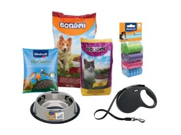 Oprema in hrana za male živali