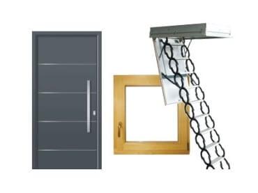 Okna, vrata in stopnice