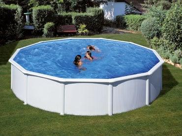 Montažni prostostoječi bazeni