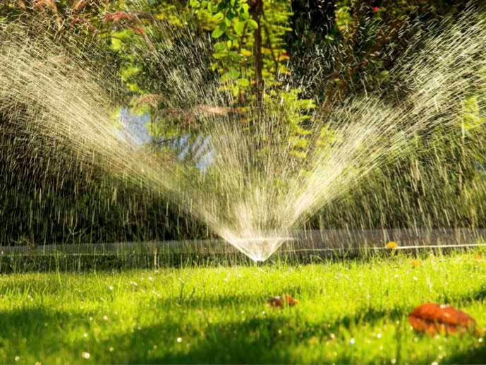 Voda na vrtu