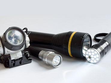 Baterije in baterijske svetilke