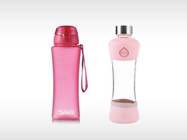 Plastenke in steklenice za vodo
