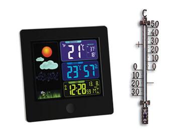 Vremenske postaje in termometri