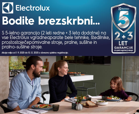electrolux 5 let garancije