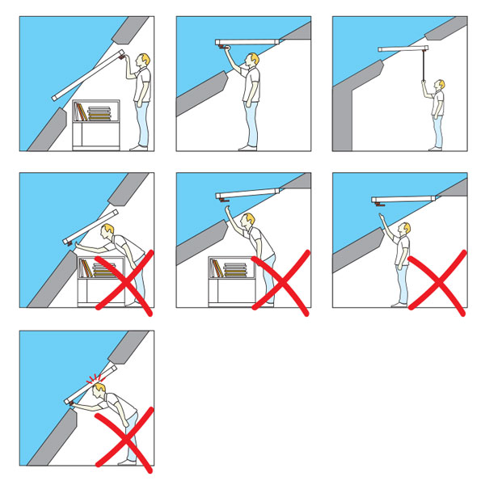 Način odpiranja oken